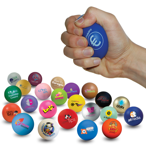 Next Day Printed Stress Balls Welcome Novelty Products