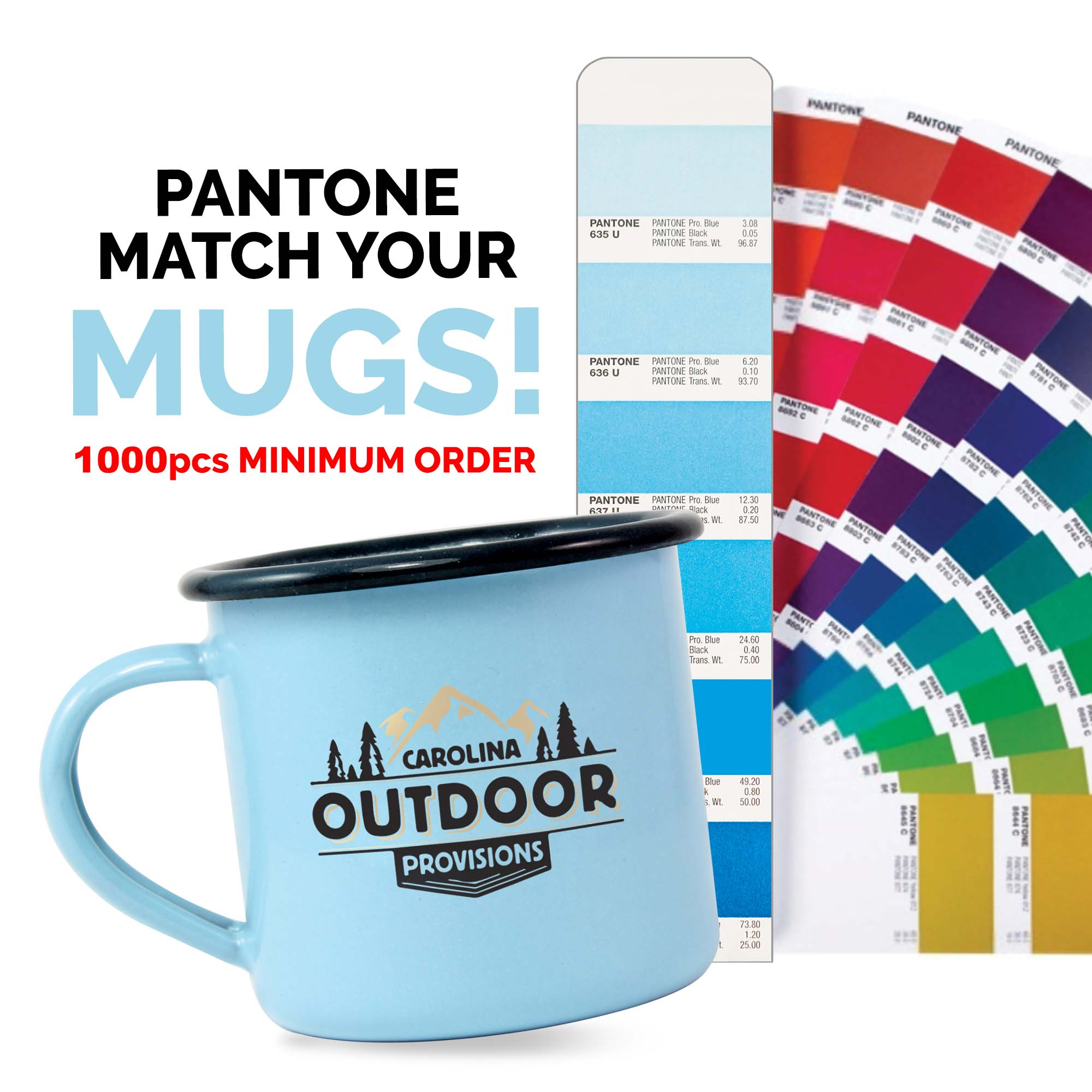 Premium Enamel Mugs 20oz/568ml (Coloured)