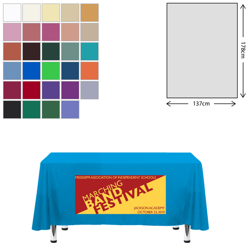 Fabric Rectangular Tablecloth (138 x 178cm)