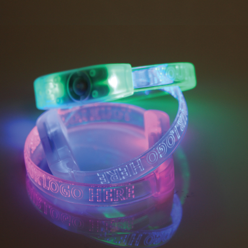 Multi Mode LED Flashing Wristband