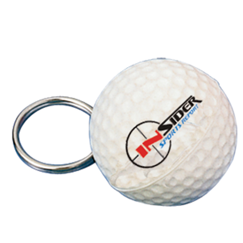 Stress Golf Ball Keyring