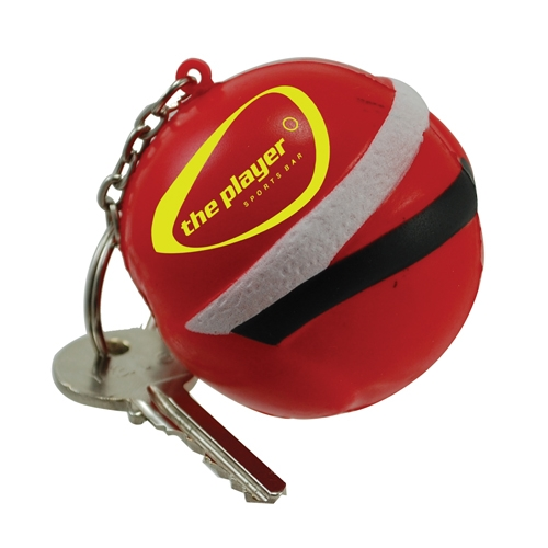 Stress Father Christmas Keyring