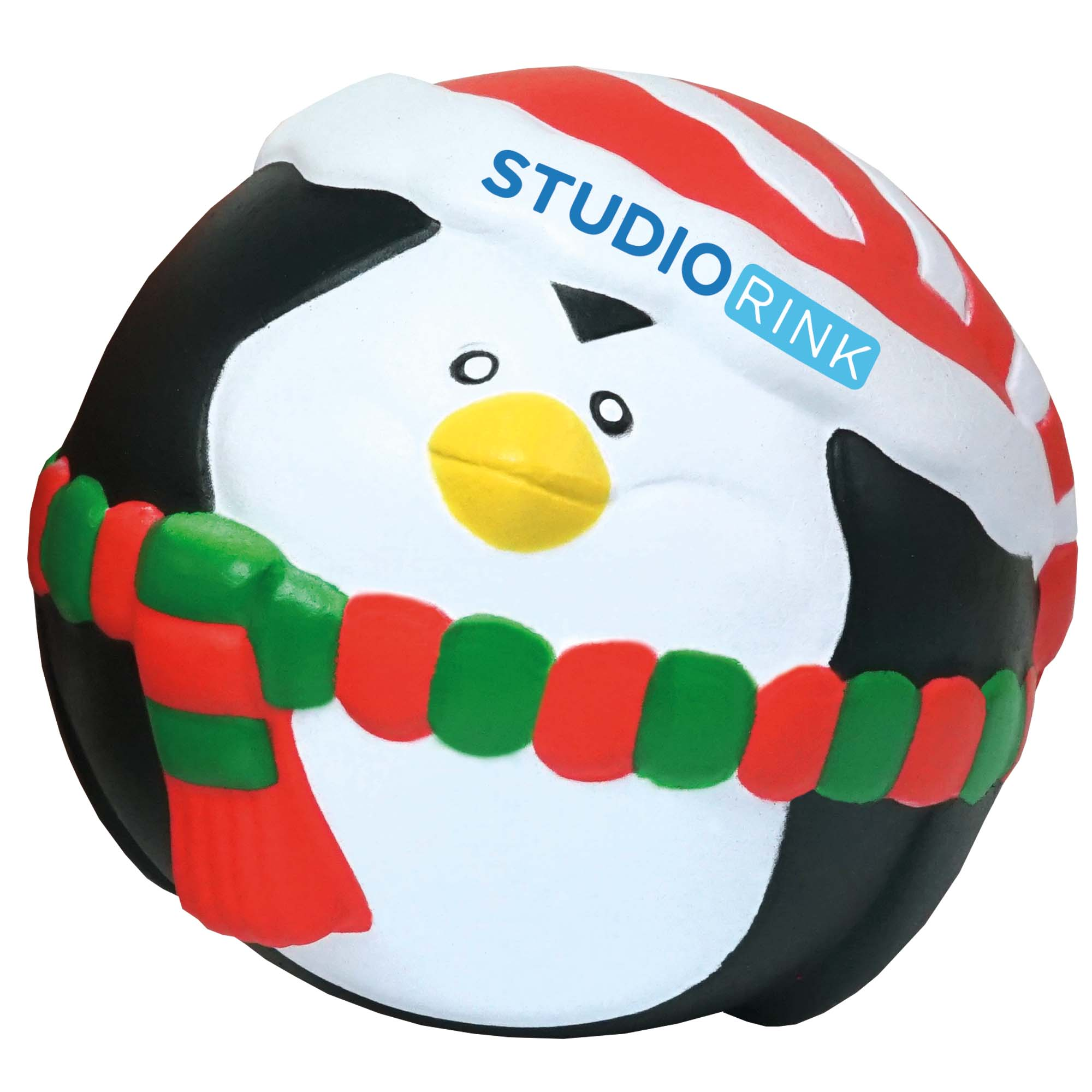 Stress Christmas Penguin