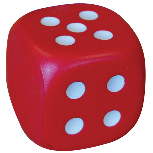 Stress Dice (Without no1, with dots 2-6)