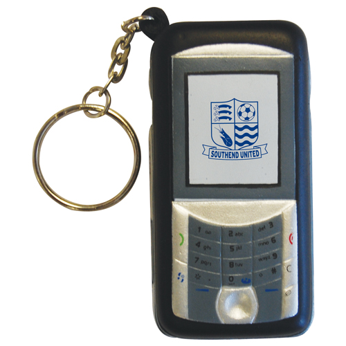 Stress Mobile Phone Keyring