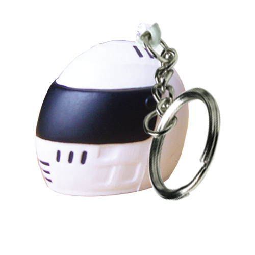 Stress Crash Helmet Keyring