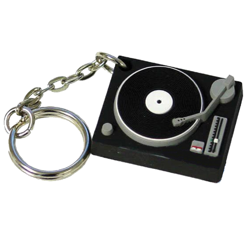Stress Turntable Keyring