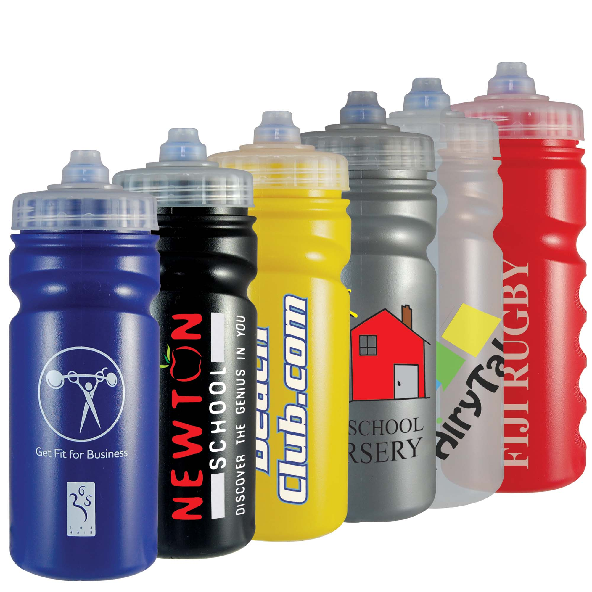 Sports Drinking Bottle 500ml (fingergrip)