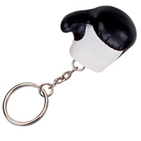 Stress Boxing Glove Keyring