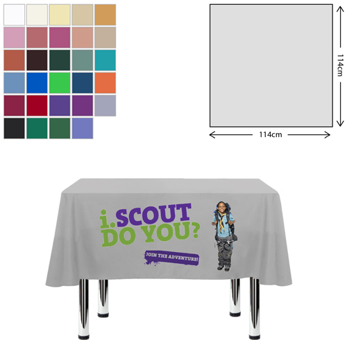 Fabric Square Tablecloth (115 x 115cm)