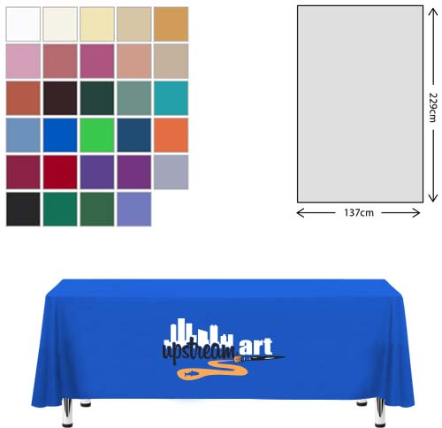Linen Rectangular Tablecloth (138 x 229cm)