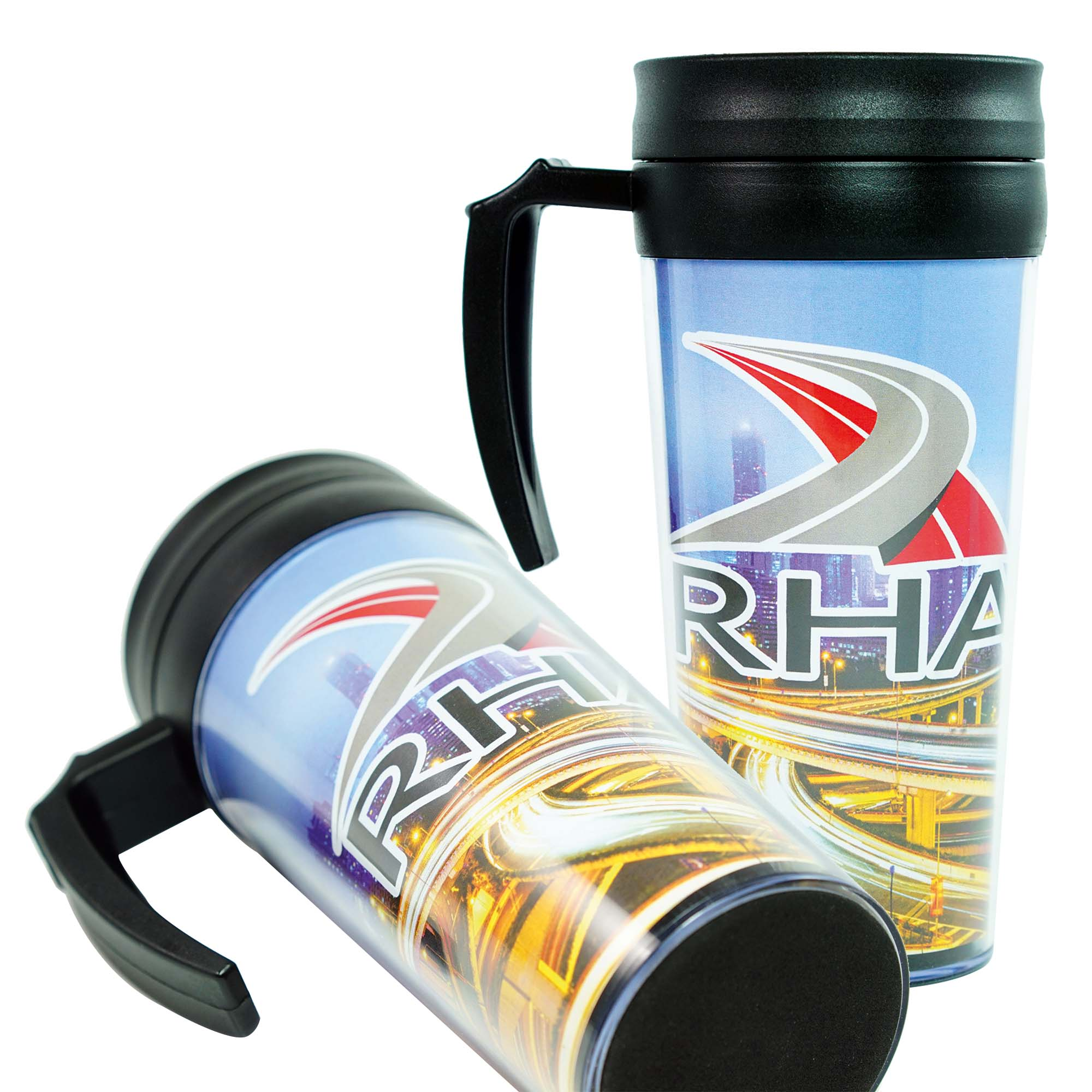 430ml Thermal Travel Flask (plastic)