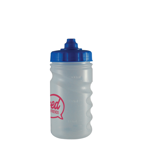 Sports Drinking Bottle 330ml (finger grip)