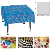Plastic Tablecloth (90 x 90cm)