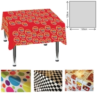 Plastic Tablecloth (120 x 120cm)
