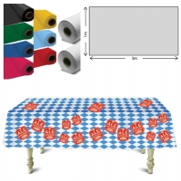 Plastic Tablecloth (1 x 3m Roll)