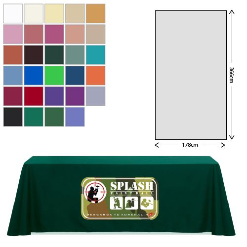 Linen Rectangular Tablecloth (178 x 366cm)