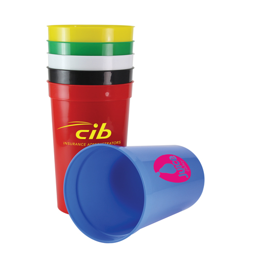 Plastic Stadium Cup (20oz/568ml)