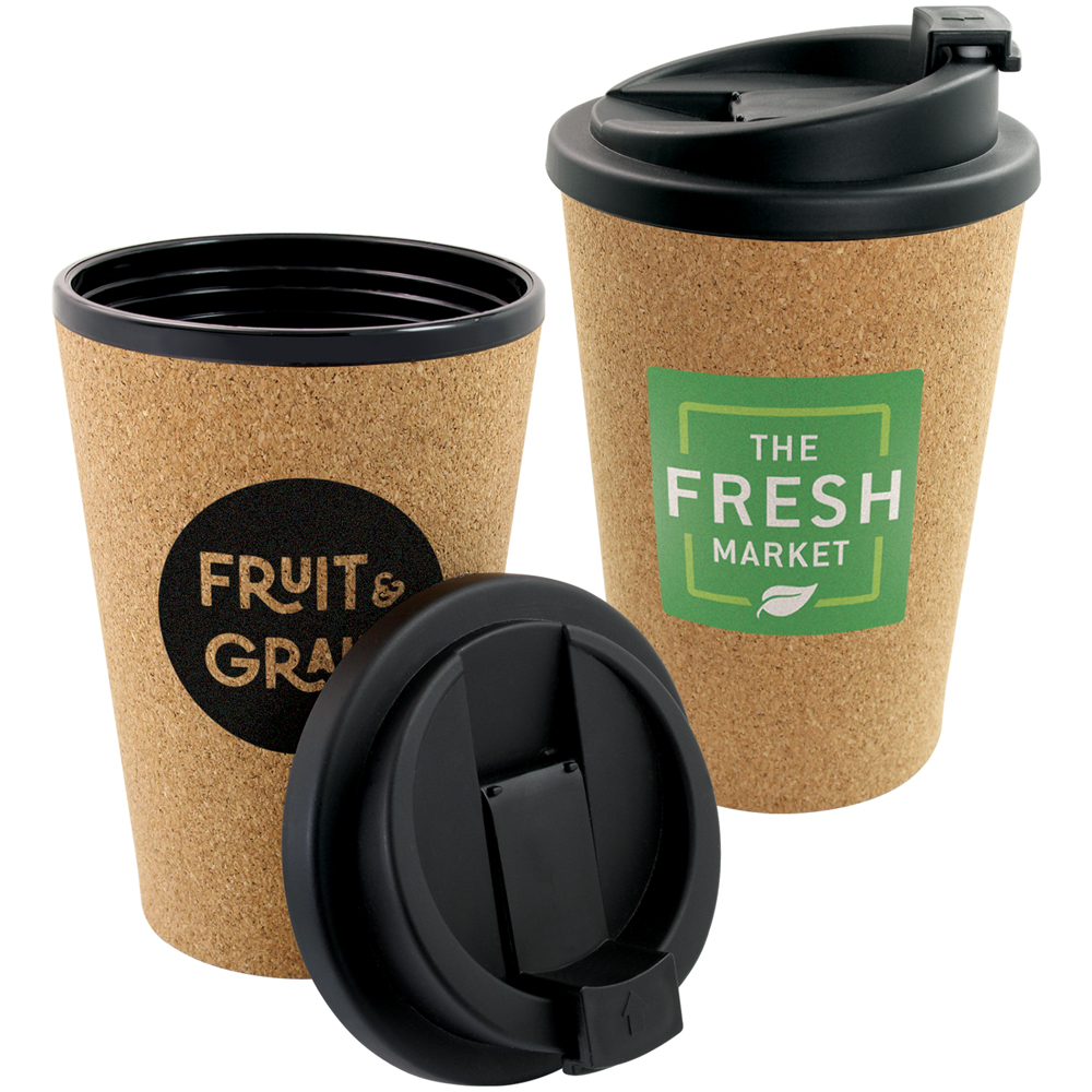 350ml Cork Travel Cup