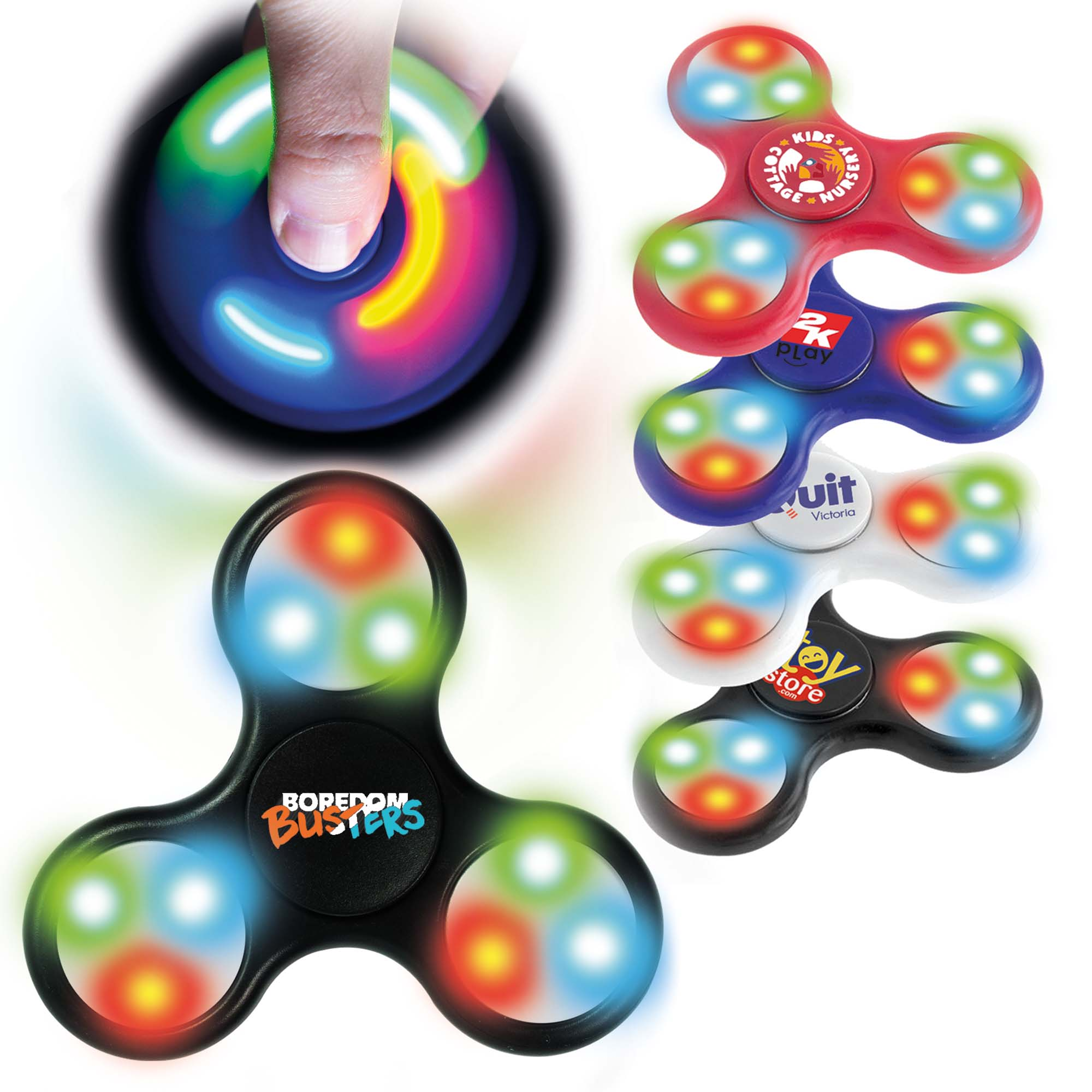 LED Fidget Spinner *