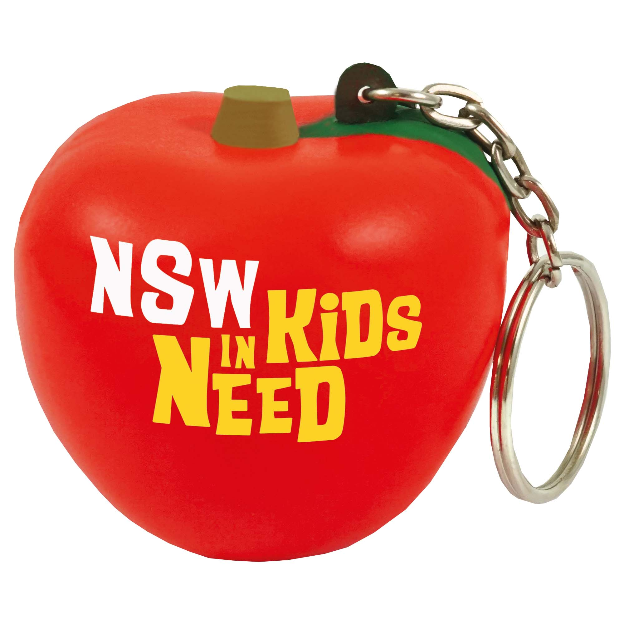Stress Apple Keyring