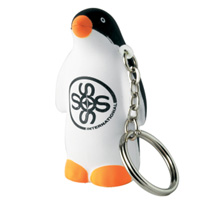 Stress Penguin Keyring