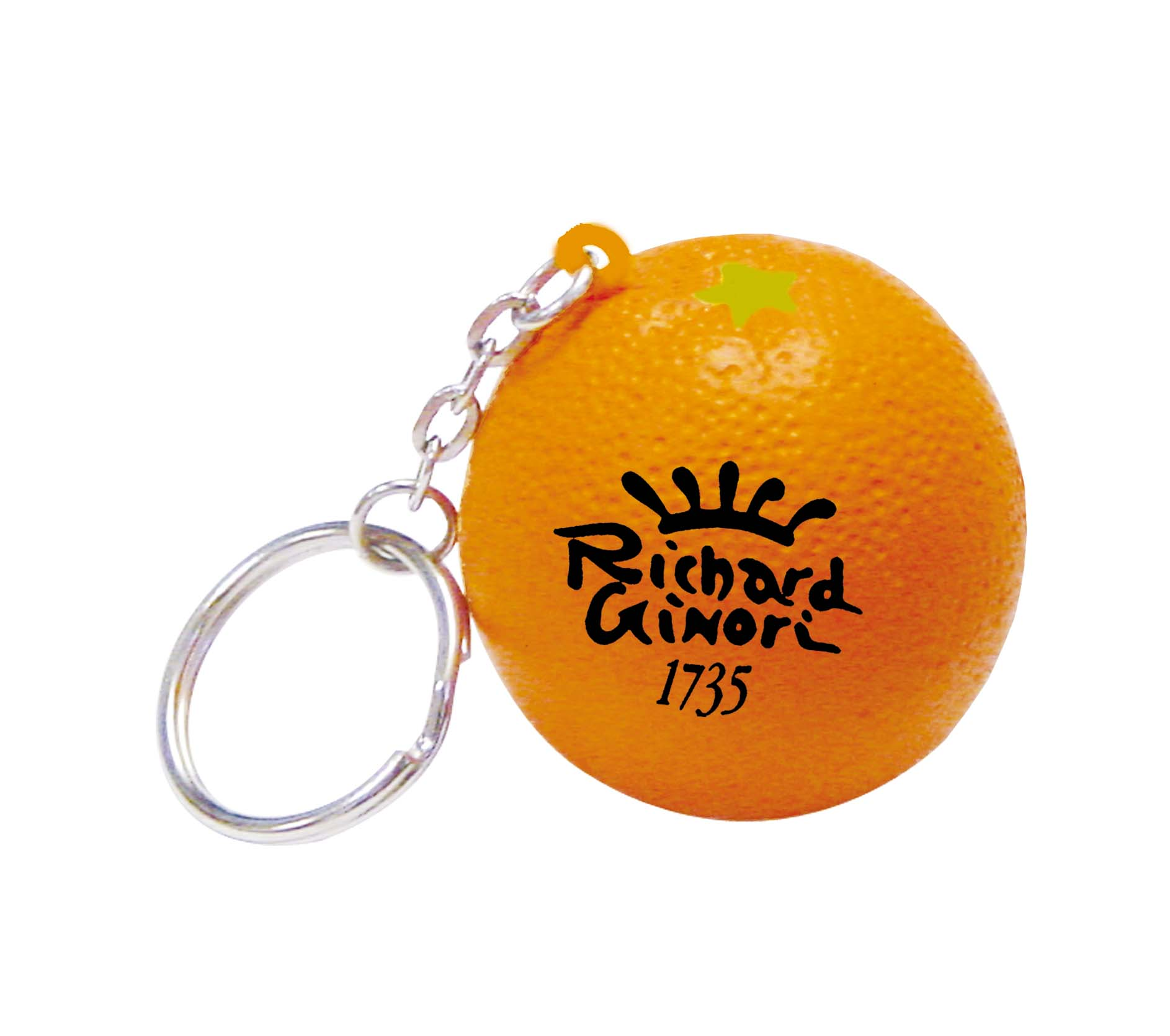 Stress Orange Keyring