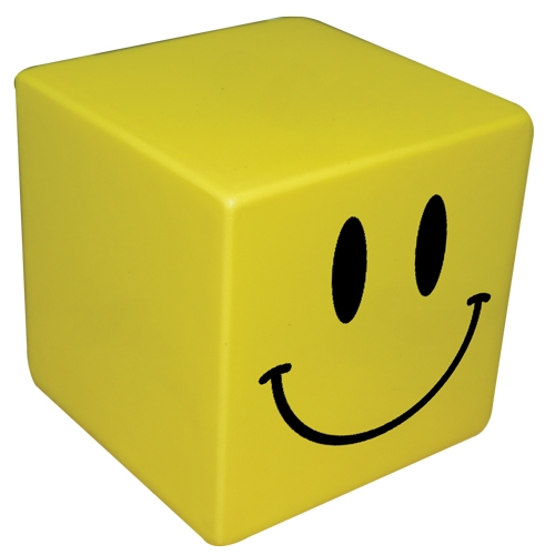 Smiley Stress Cubes