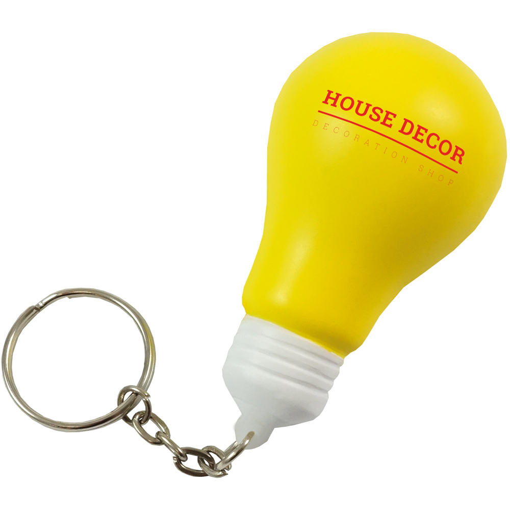 Stress Light Bulb Keyring