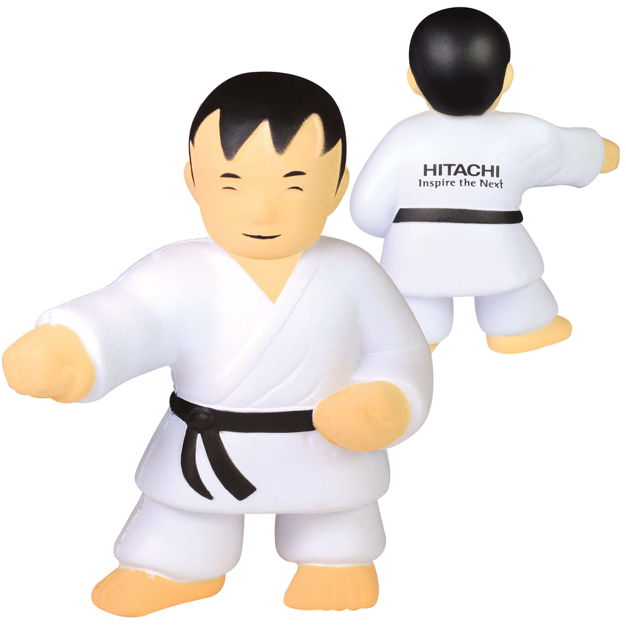 Stress Karate Man
