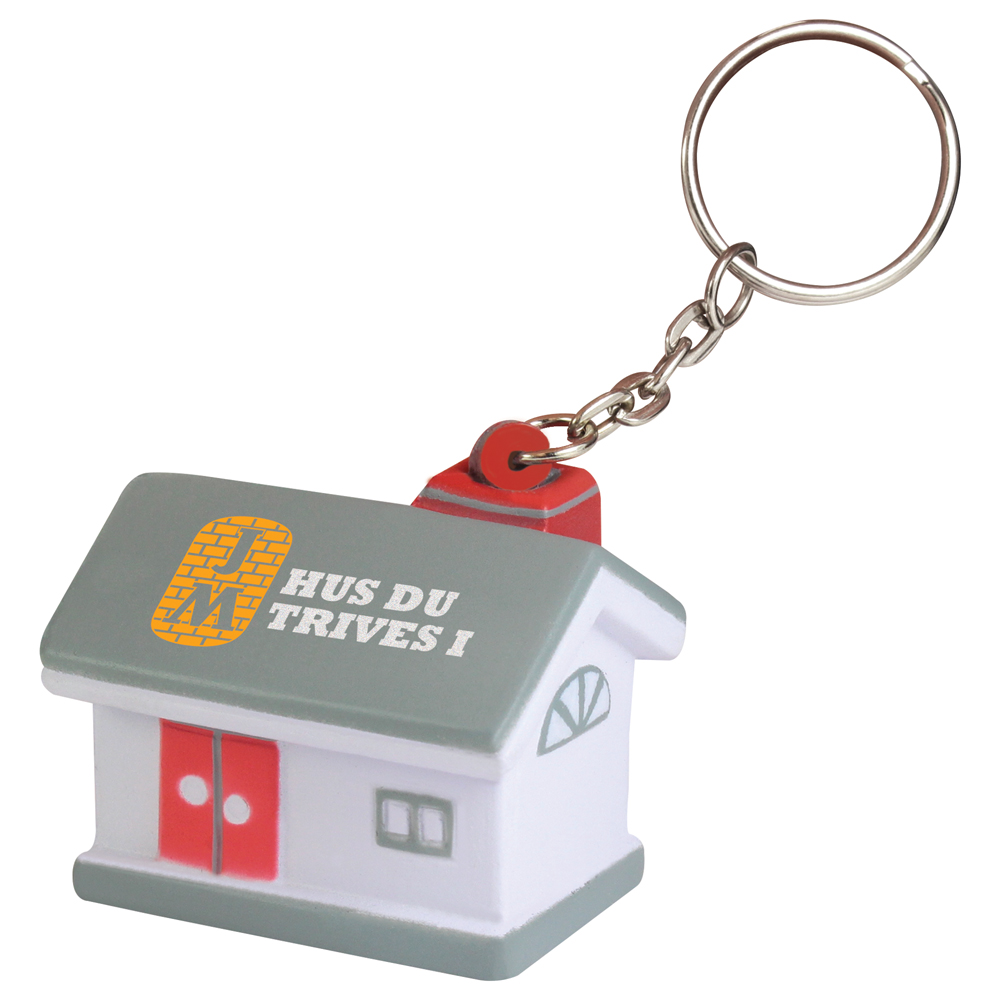 Stress House Keyring