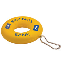Stress Life Ring Keyring