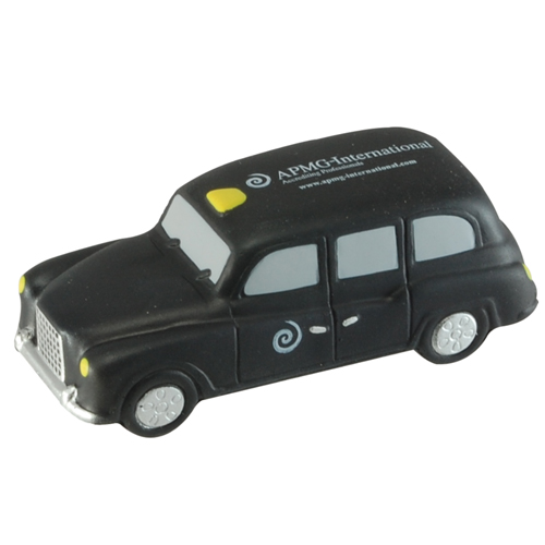 Stress Black Taxi Cab