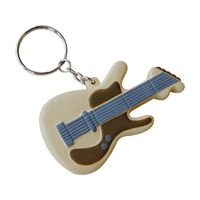 Stress Guitar Keyring