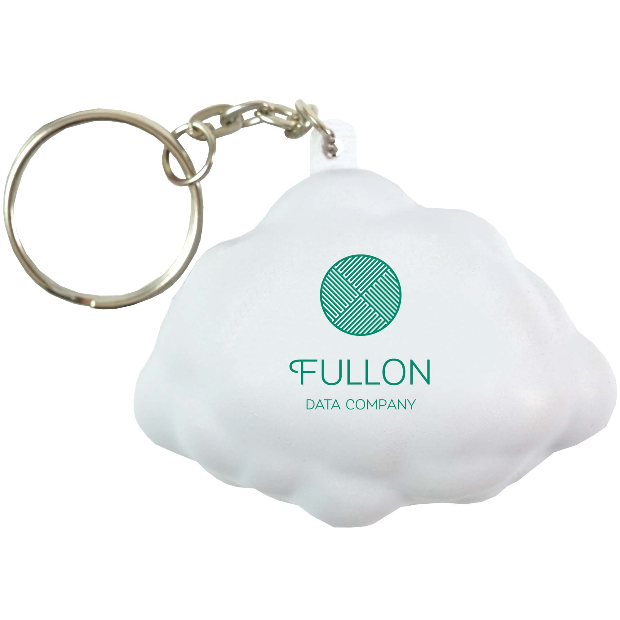 Stress Cloud Keyring