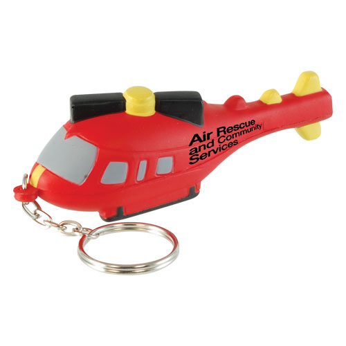 Stress Helicopter Keyring